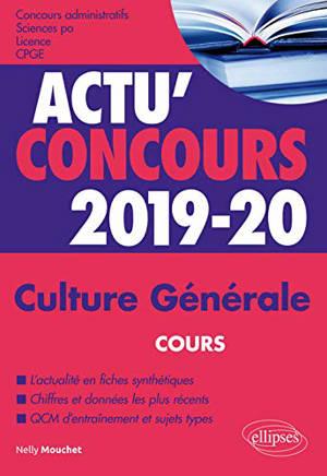 Culture générale 2019-2020 : cours