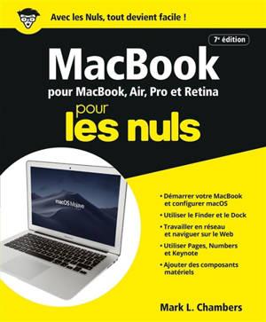 MacBook pour MacBook, Air, Pro et Retina pour les nuls