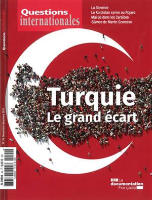 Questions internationales. n° 94, Turquie : le grand écart