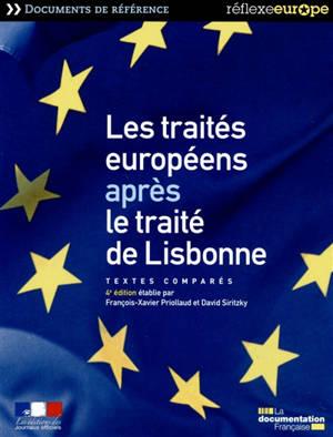 Traités européens après le traité de Lisbonne : textes comparés