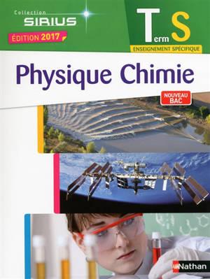 Physique chimie terminale S, enseignement spécifique : nouveau bac