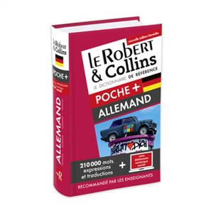Le Robert & Collins poche + allemand