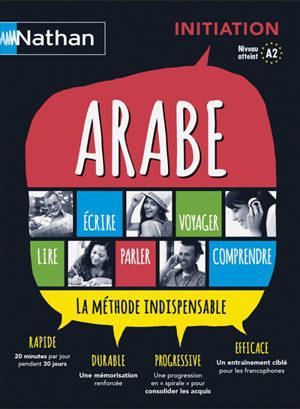 Arabe : coffret initiation : la méthode indispensable