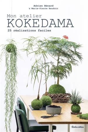 Mon atelier kokedama : 25 réalisations faciles