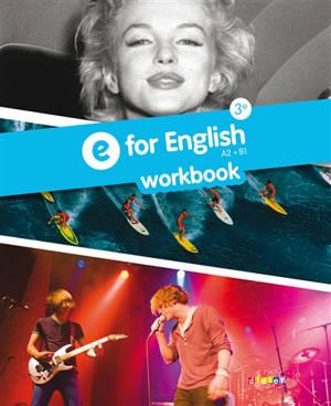 E for English 3e : workbook