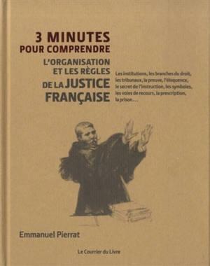 3 minutes pour comprendre l'organisation et les règles de la justice française