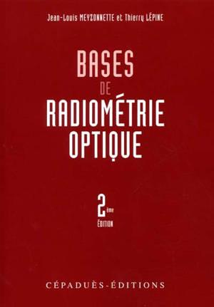 Bases de radiométrie optique