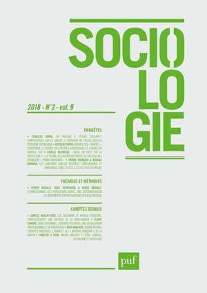 Sociologie. n° 2 (2018)