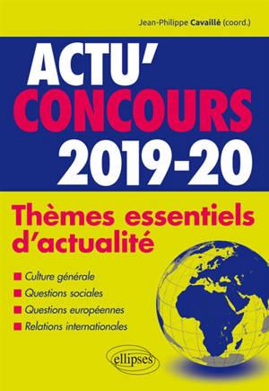 Thèmes essentiels d'actualité 2019-2020