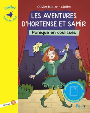 Les aventures d'Hortense et Samir, Panique en coulisses : graphème ou : niveau 3