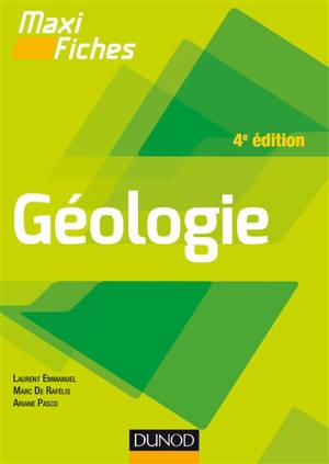 Maxi fiches : géologie
