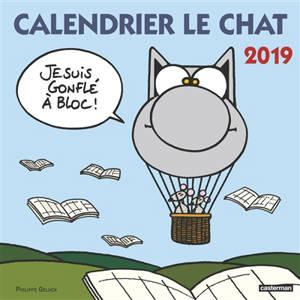 Calendrier Le Chat 2019 : Je suis gonflé à bloc !