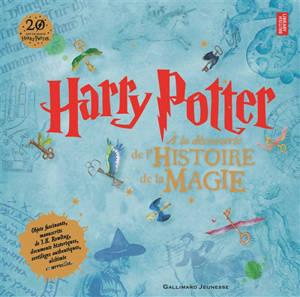 Harry Potter : à la découverte de l'histoire de la magie : objets fascinants, manuscrits de J. K. Rowling, documents historiques, sortilèges authentiques, alchimie et merveilles...