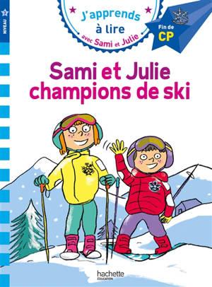 Sami et Julie, champions de ski : niveau 3, fin de CP
