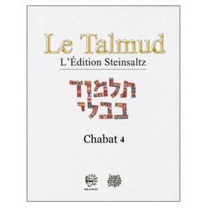 Le Talmud : l'édition Steinsaltz, Volume 35, Chabat. Volume 4