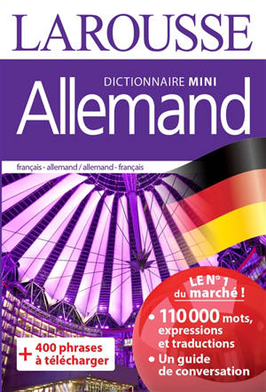 Allemand : mini dictionnaire : français-allemand, allemand-français = Deutsch : Miniwörterbuch : Französisch-Deutsch, Deutsch-Französisch
