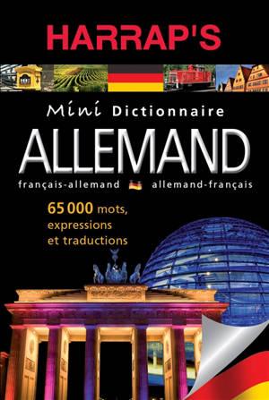 Harrap's dictionnaire mini : français-allemand, allemand-français