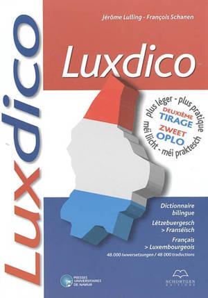 Luxdico : Lëtzebuergesch-Franséisch, français-luxembourgeois : 55.400 iwwersetzungen = 55.400 traductions