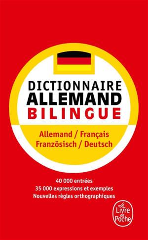 Dictionnaire de poche allemand : allemand-français français-allemand