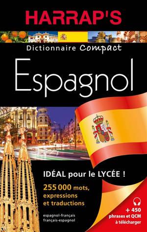 Harrap's dictionnaire compact espagnol : français-espagnol, espanol-francés