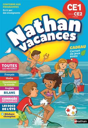 Nathan vacances, CE1 vers le CE2, 7-8 ans : toutes les matières