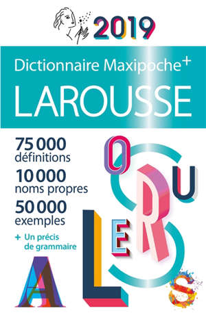 Dictionnaire Larousse maxipoche + 2019