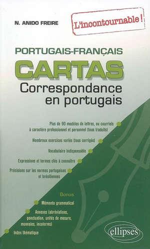Cartas, correspondance en portugais : Portugais-français : l'incontournable