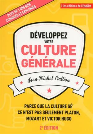 Développez votre culture générale : plus de 1.000 QCM expliqués