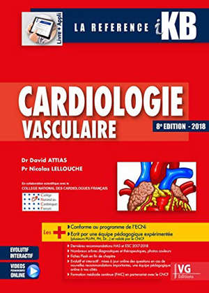 Cardiologie vasculaire : 2018