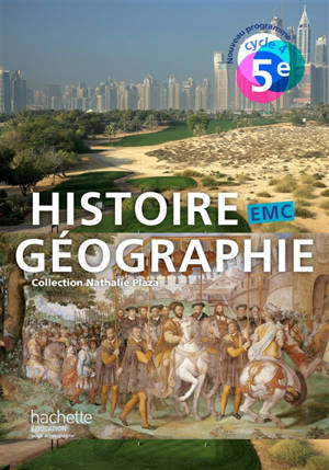 Histoire géographie, EMC : 5e, cycle 4
