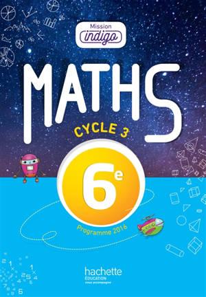 Maths 6e, cycle 3
