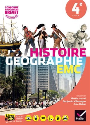 Histoire géographie, EMC 4e : nouveaux programmes 2016