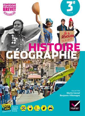 Histoire géographie 3e, cycle 4