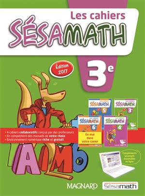 Les cahiers Sésamath 3e