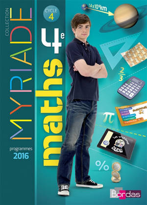 Maths 4e : cycle 4 : programme 2016