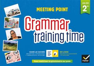 Meeting point, grammar training time, 2de, A2-B1