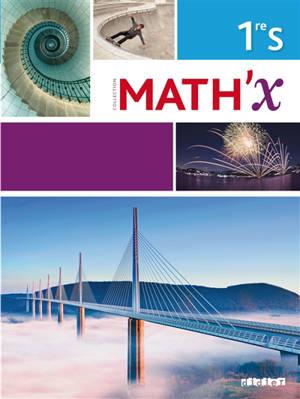 Math'x 1re S : programme 2011