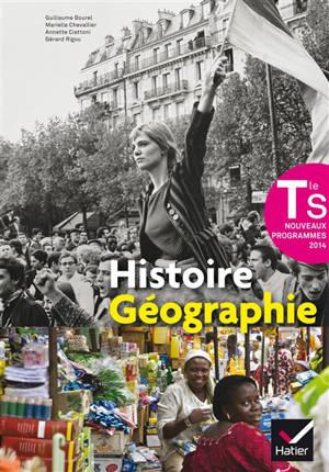 Histoire, géographie, terminale S