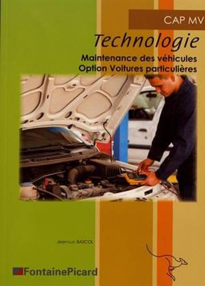 Technologie CAP MV, maintenance des véhicules : option voitures particulières