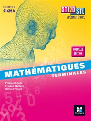 Mathématiques, terminales STI2D, STL, spécialité SPCL