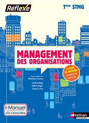 Management des organisations, terminale STMG : i-manuel, livre + licence élève