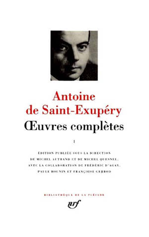 Oeuvres complètes. Volume 1