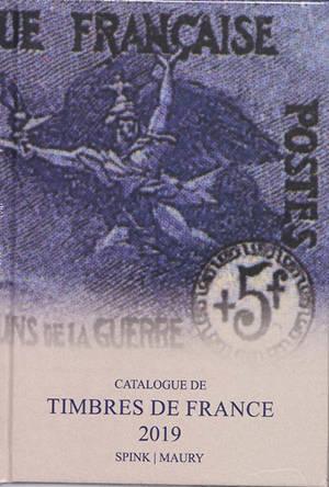 Catalogue des timbres de France : 2019