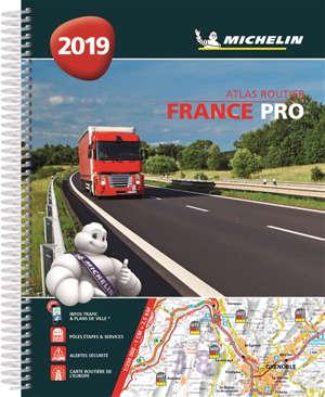 France pro 2019 : atlas routier = France pro 2019 : road atlas = France pro 2019 : Strassenatlas