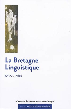 Bretagne linguistique (La). n° 22