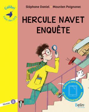 Hercule Navet enquête : graphème cr : niveau 4