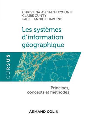 Les systèmes d'information géographique : principes, concepts et méthodes