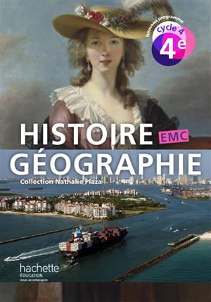 Histoire géographie, EMC : 4e, cycle 4 : nouveau programme