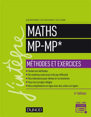Maths MP-MP* : méthodes et exercices