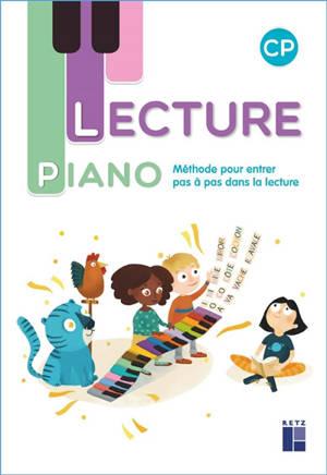Lecture piano CP : méthode pour entrer pas à pas dans la lecture